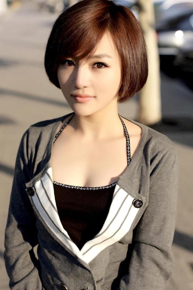 短发美女图片-素彩图片大全图片