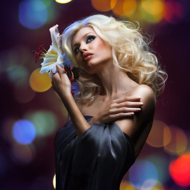 欧美女模特图片 素彩图片大全