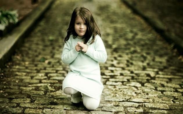 可爱欧美小女孩图片