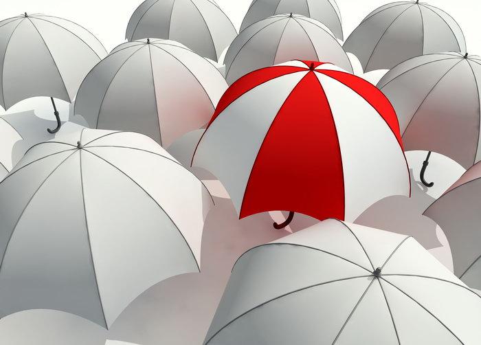 雨伞图片,雨伞,白色雨伞,红色雨伞,生活用品,摄影,生活百科,4500x3225