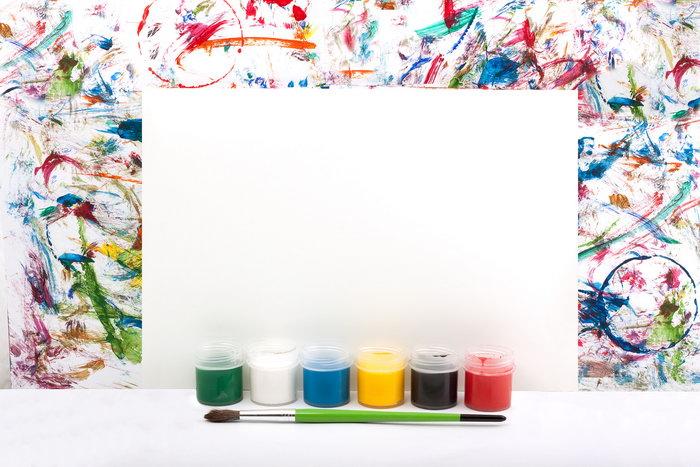 画笔与颜料图片,画笔与颜料,水彩颜料,水彩笔,学习用品,摄影,生活日用