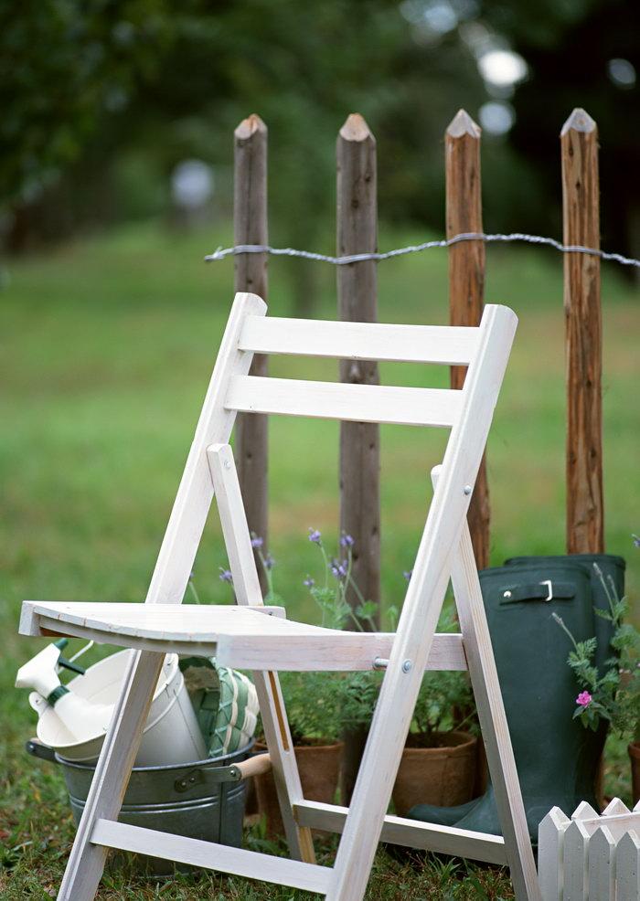 折叠木凳子-素彩图片大全