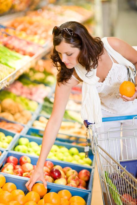 超市购物人群图片-素彩图片大全