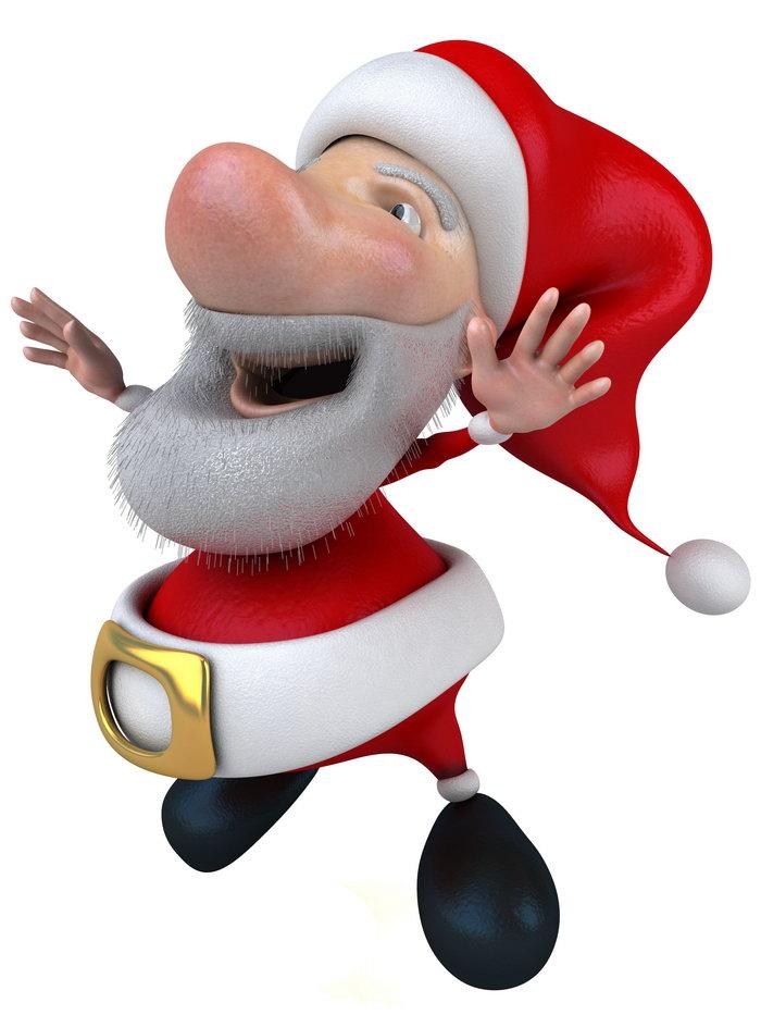 可爱3d圣诞节图片-素彩图片大全