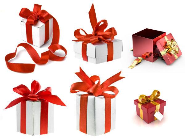 漂亮的圣诞节礼物图片2-素彩图片大全图片