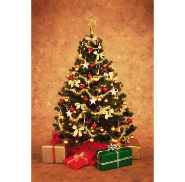 挂满礼物的圣诞树3,圣诞,圣诞节,耶诞节,礼物,彩球,圣诞花,彩灯,蝴蝶