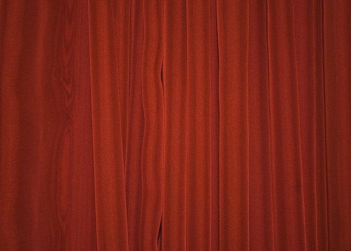 红色折皱布纹背景图片