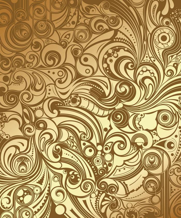 黄金花纹理,花纹,纹样,样式,图案,图形,纹理,肌理,黄金纹,背景,底纹