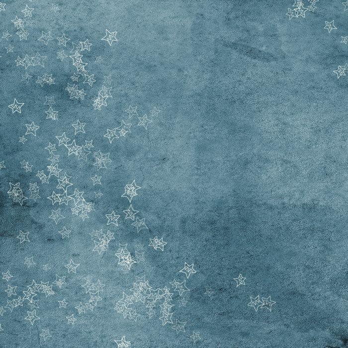 蓝色星星背景图片-素彩图片大全