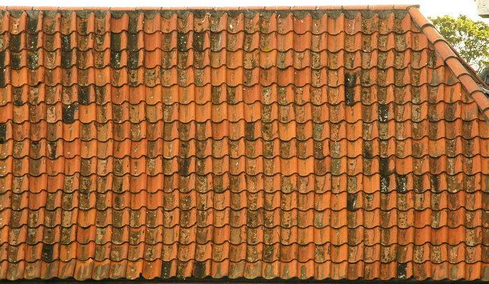 瓦片屋顶图片-素彩图片大全