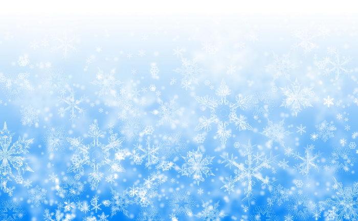 雪花背景图片-素彩图片大全