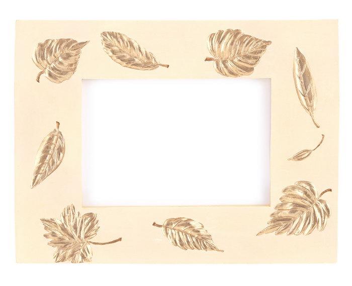 叶子装饰相框图片