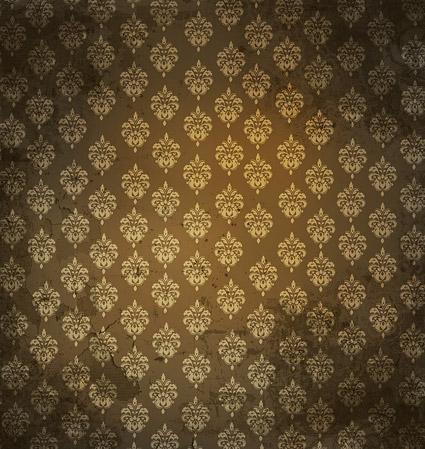 欧式花纹墙纸图片-素彩图片大全