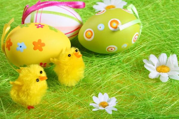 复活节彩蛋图片-素彩图片大全