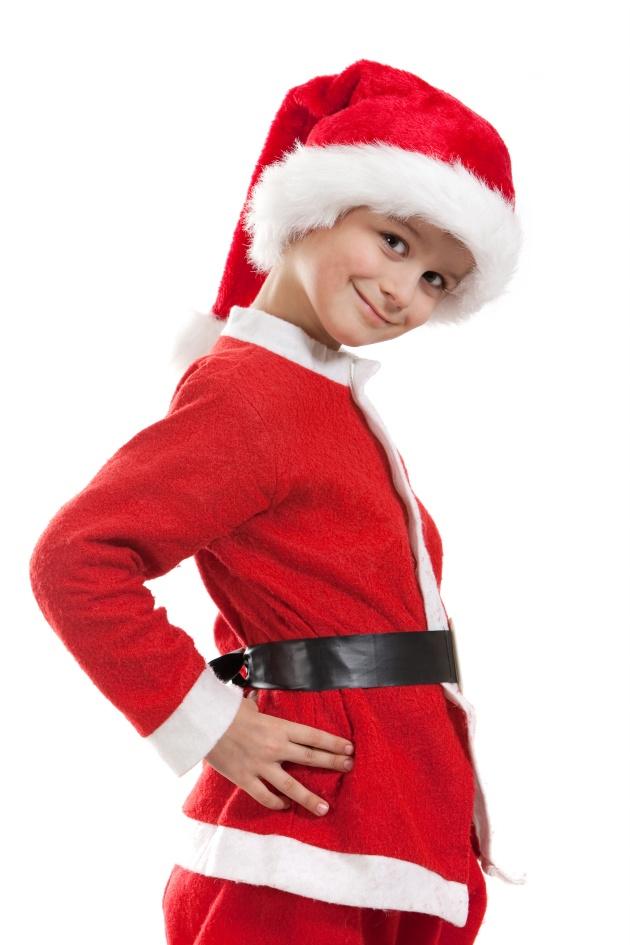 圣诞节儿童服装图片-素彩图片大全
