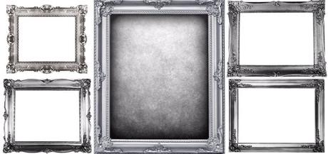 银色相框;;; 银色相框图片素材; 银色相框,相框,画框,边框,金属相框