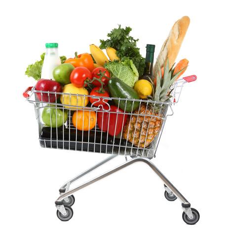 超市购物车图片-素彩图片大全