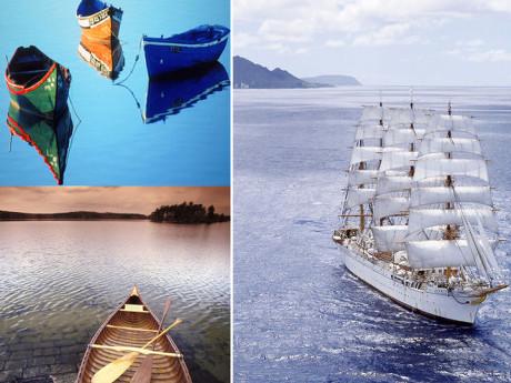 游轮木船图片-素彩图片大全