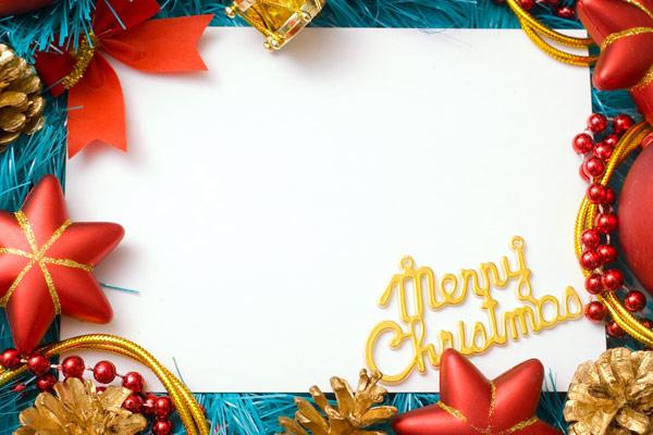 圣诞节饰物边框7图片