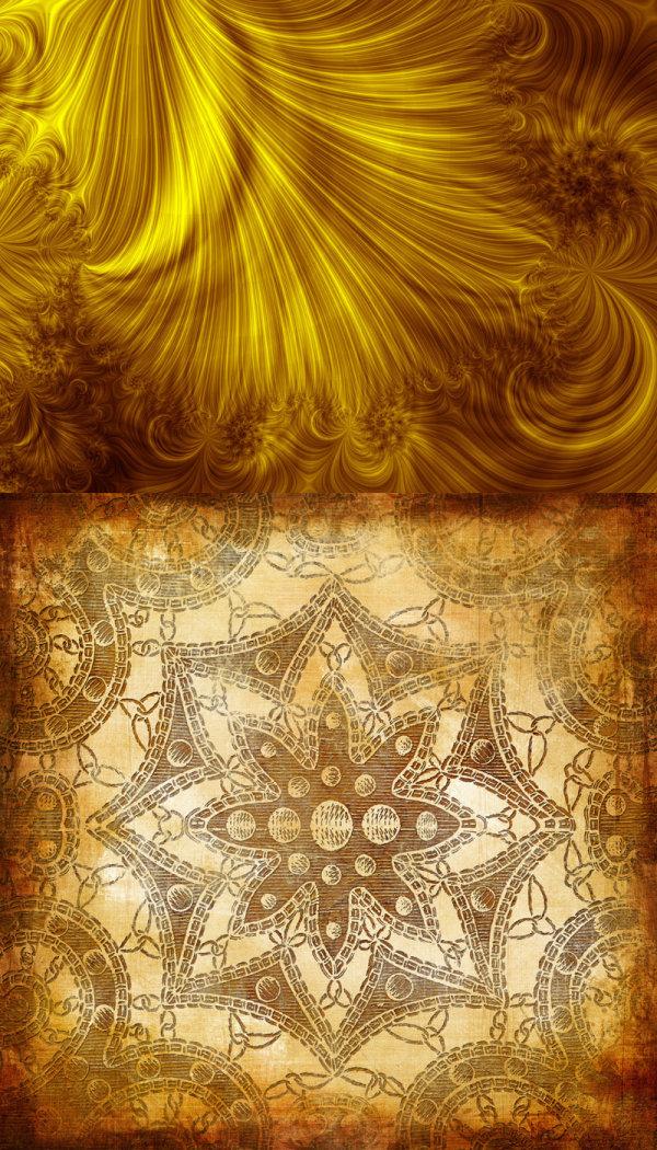 花纹,纹样,样式,图案,图形,纹理,肌理,线描,线条,黄金纹