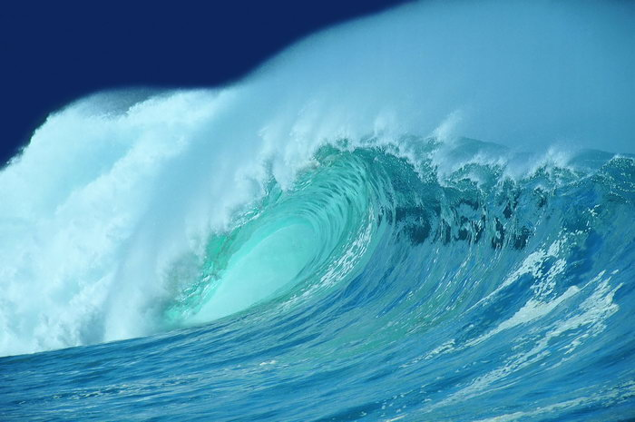 海浪风景图片
