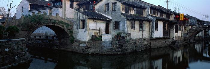 江南水乡图片,江南水乡风景,宽屏巨幅风光,自然风景,摄影,山水景观