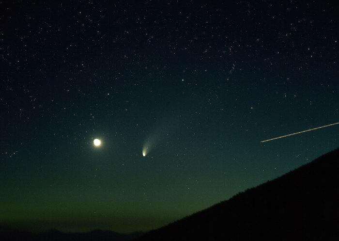 夜空星光美丽夜景图片,夜空星光,夜空夜景,天空美景,摄影,风景,2950x2