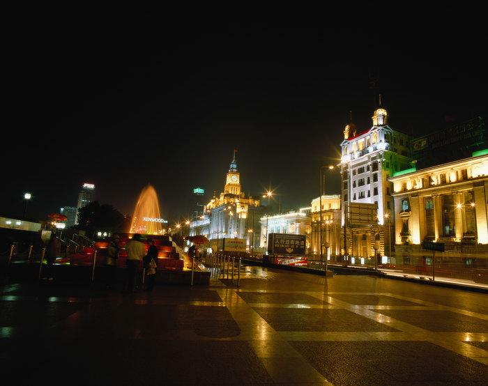 上海夜景图片-素彩图片大全