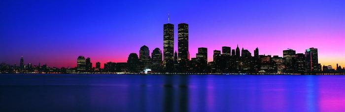 宽幅城市夜景图片图片