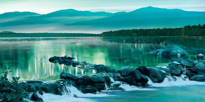 溪流图片,溪流,高山,自然风景,摄影,山水景观设计,3779x1892像素
