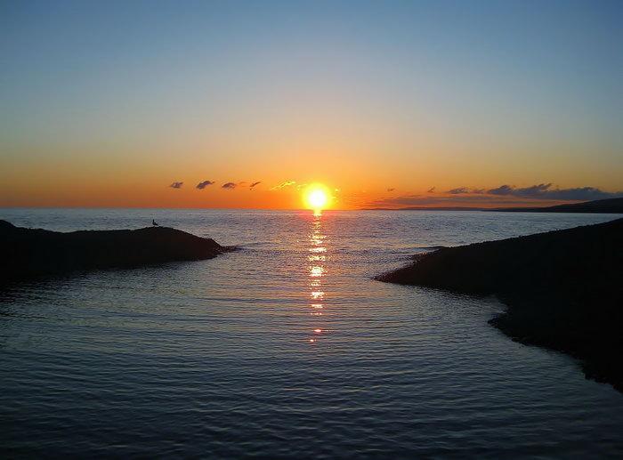 日落图片,日落,夕阳,水面,自然风景,摄影,山水景观,2280x1685像素