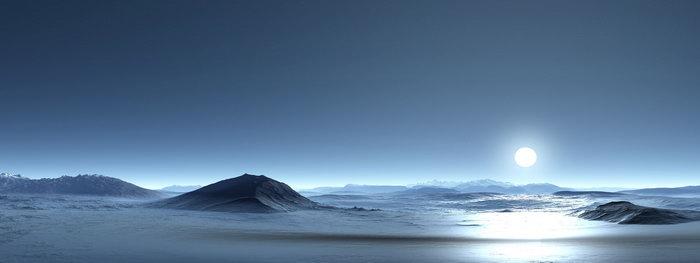 南极洲山景图片,南极洲山景,宽屏巨幅风光,自然风景,摄影,山水景观
