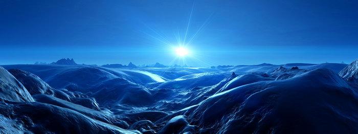 南极洲山脉晨光图片,南极洲山脉,晨光风景,宽屏巨幅风光,自然风景