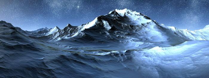 南极洲雪山山脉图片,南极洲雪山山脉风景,宽屏巨幅风光,自然风景,摄影