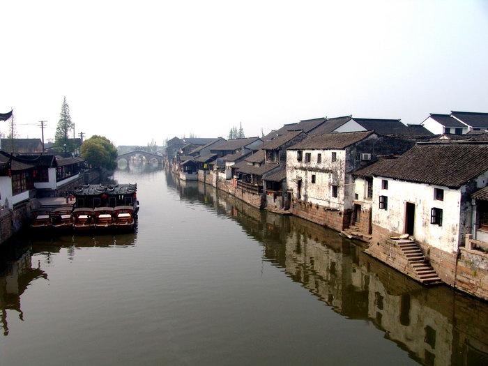 江南水乡风景图片-素彩图片大全