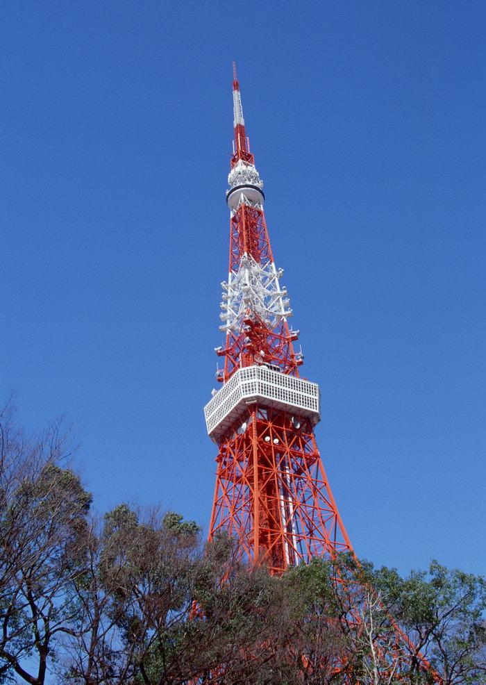 东京铁塔图片-素彩图片大全