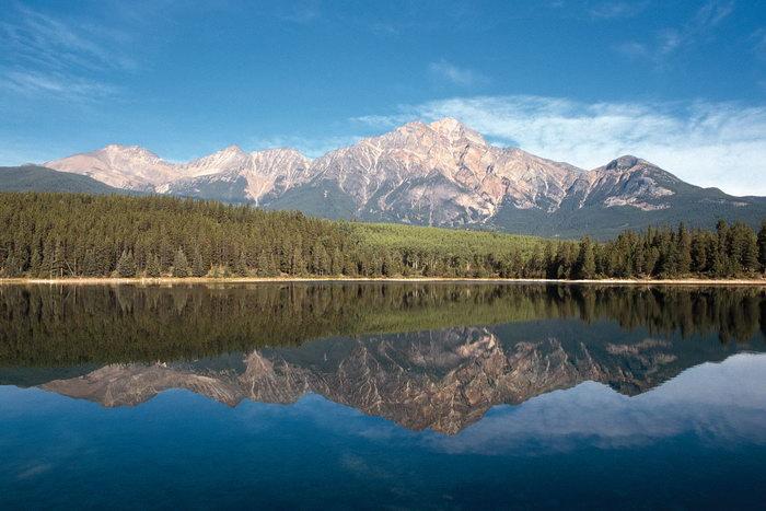 加拿大山水风光图片