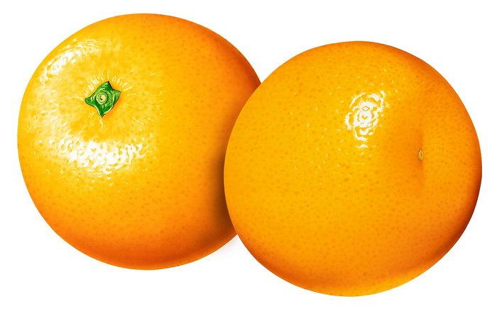 手绘橙子图片-素彩图片大全