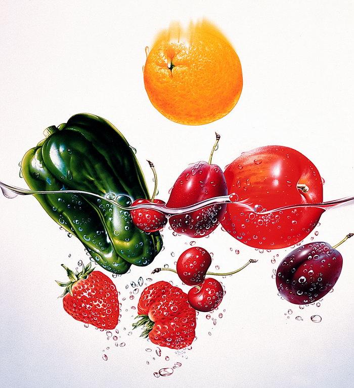 手绘水果图片-素彩图片大全