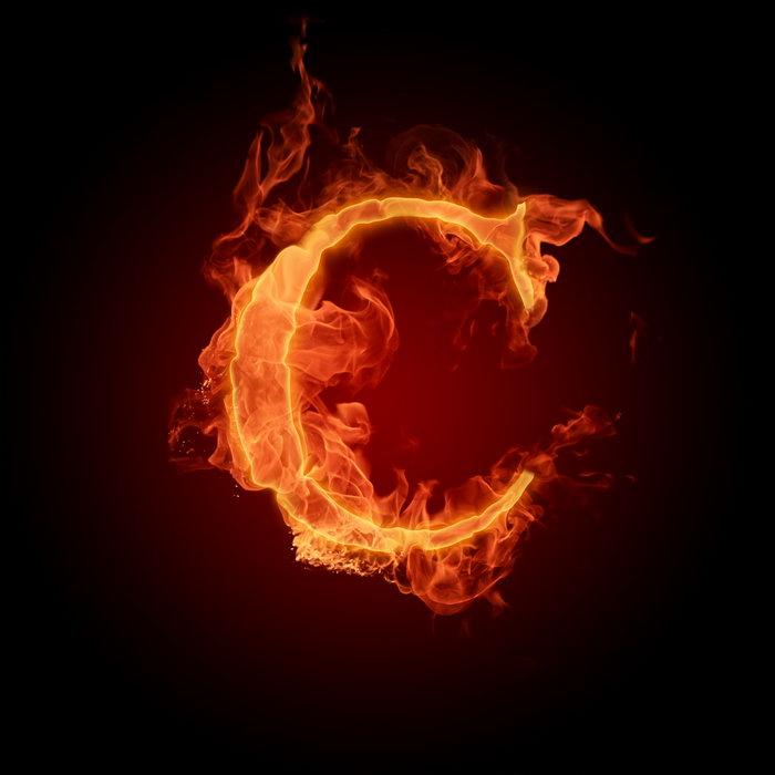 燃烧的C字母方法图片空调清洗立式图解图片
