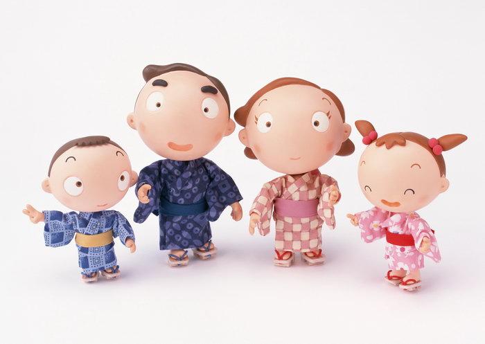 卡通家庭人物图片