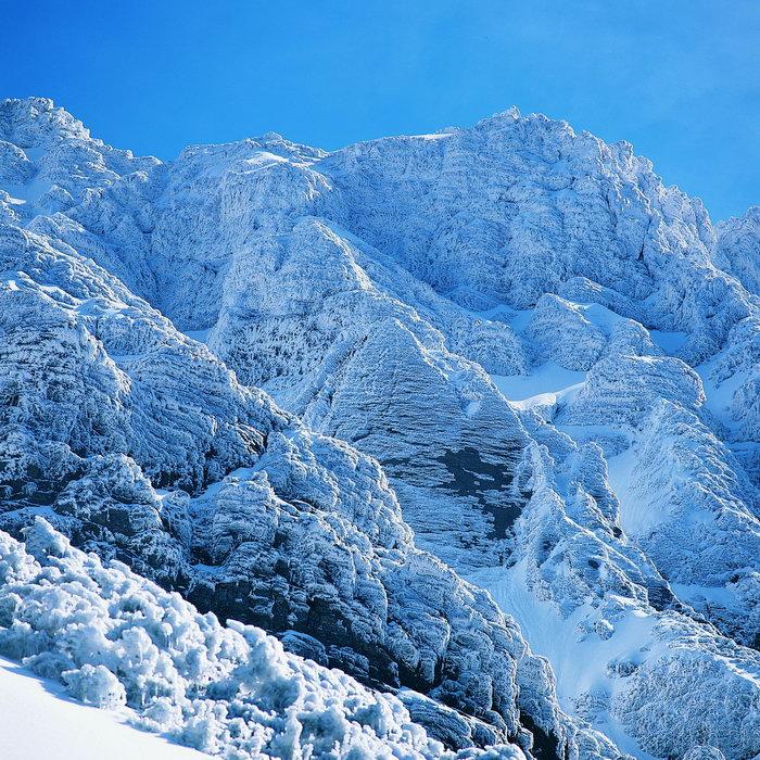 冬天美丽雪山风光图片,冬天美丽雪山风光,冬季风光,冬天风景,四季自然