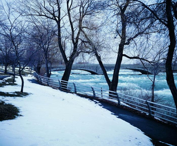冬天下雪风景图片