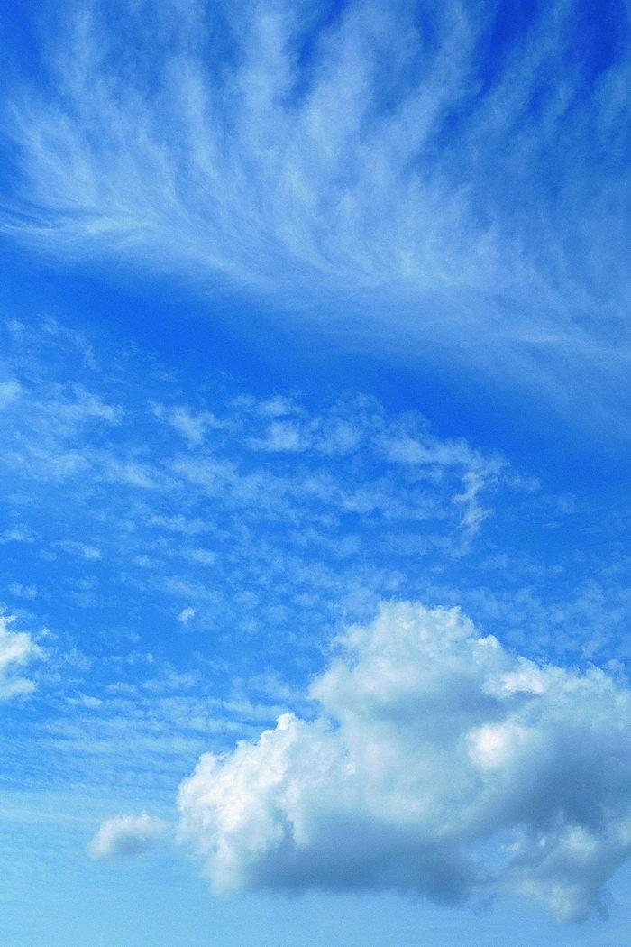 蓝天白云天空美景图片,蓝天白云,高空景观,天空美景,摄景图,风景,4050
