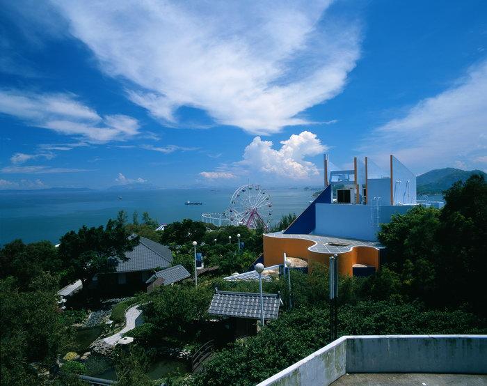 香港海洋公园风景旅游风光摄影图片