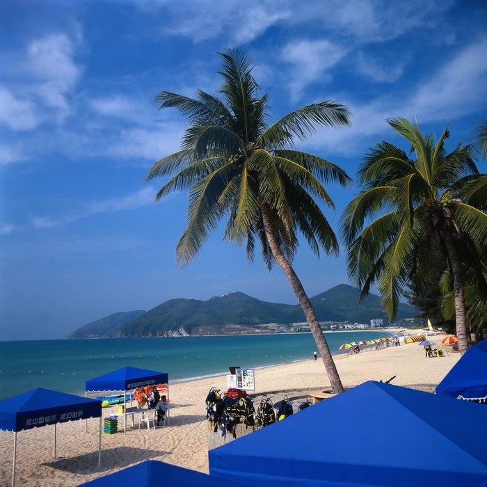 海边旅游风景旅游风光摄影图片-素彩图片大全