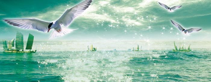 海上风景大海风景风光图片-素彩图片大全