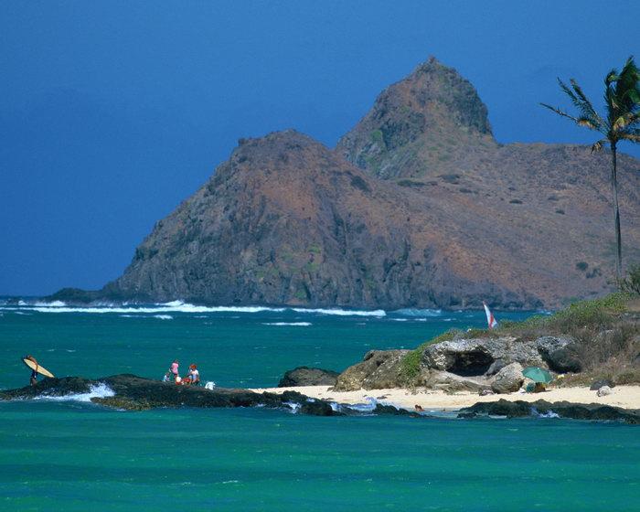 夏威夷群岛大海风景风光图片