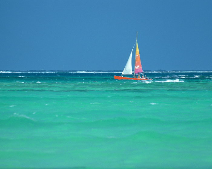 大海大海风景风光图片-素彩图片大全