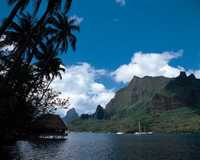 夏威夷岛屿风景大海风景风光图片